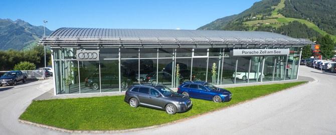 Porsche Zell am See: Autohaus & Servicebetrieb